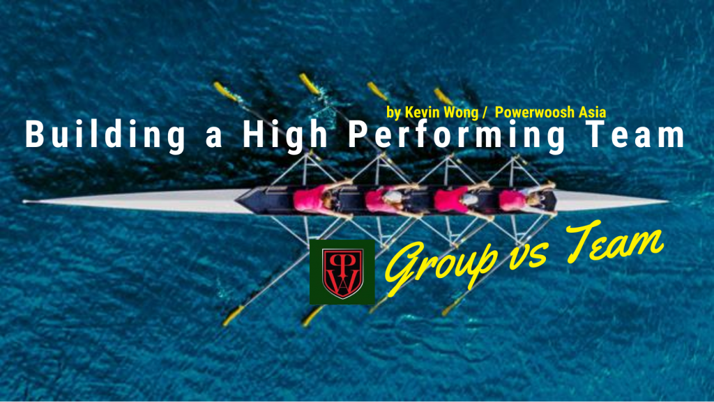 """Solution Focused in Building a Great Team – """"Group vs Team"""""""