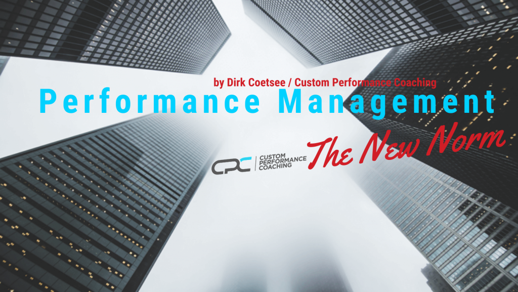 Remote performance management – The new Norm