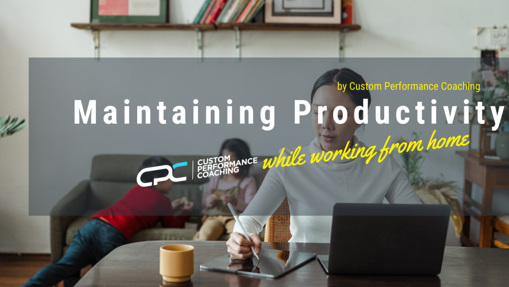 Maintaining Productivity