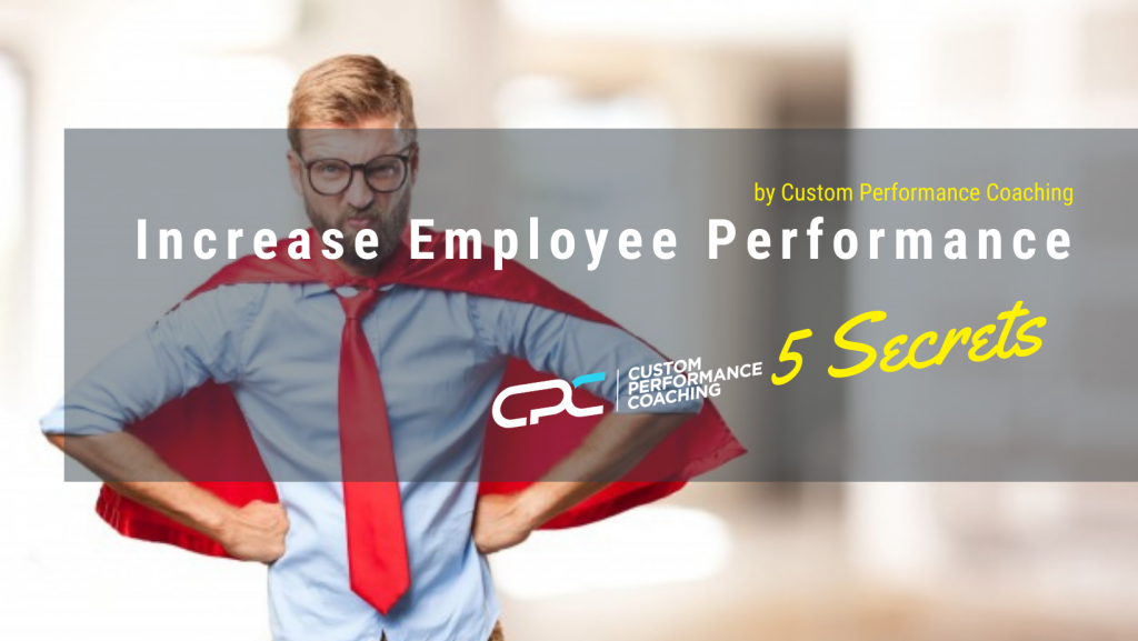 My Employees must Perform!